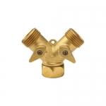 Dixon Valve 500GHY, Garden Hose Y-Type Valve, Forged Brass