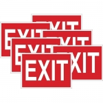 Brady 51551, 10″ x 14″ Polyester Exit Sign