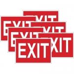 Brady 51552, 10″ x 14″ Polystyrene Exit Sign
