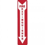 Brady 51556, 18″ x 4″ Polystyrene Fire Extinguisher Sign