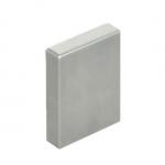 Fowler 53-675-210-0, 2.000″ Individual Rectangular Steel Gage Block