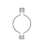 Ace Glass 5877-15, 2L Reservoir for Chromatography System