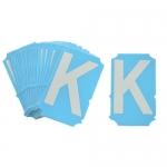 Brady 6003-K, Glow in the Dark Letter Label w/ Legend: K