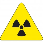 Brady 60218, 4″ x 4″ Vinyl Warning Label, Black on Yellow