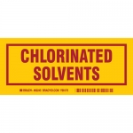 Brady 60245, 3″ x 7″ Polyester Chlorinated Solvents Label