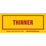 Brady 60255, 3″ x 7″ Polyester Thinner Label