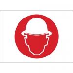 Brady 25899, 10″ x 14″ Polystyrene Hard Hat Area Picto Sign