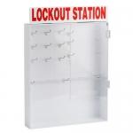 Brady 65295, Large Adjustable Station with Locking Center