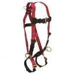 FallTech 7009, Tradesman Standard 3-D Full Body Harness, Size UniFit