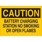 Brady 25792, Caution Battery Charging Station No… Sign