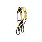 FallTech 7028X/2X, Journeyman Climbing 2-D Harness, Cross-over