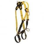 FallTech 70292X, Journeyman Climbing 4-D Harness, Cross-over