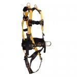 FallTech 7034XL, Journeyman Retrieval 5-D Full Body Harness, Belted