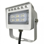 Morris 71137A, LED ECO-Flood Light w/ Yoke, 12W, 1270 Lumens