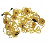 Morris 71191, 100ft Temporary String Lighting with Plastic Lamp Guards