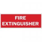 Brady 43290, 7″ x 10″ Aluminum Fire Extinguisher Sign