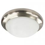 Morris 72202, 13″ LED Decorative Ceiling Lighting, Silver Bay
