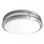 Morris 72232, 16″ LED 2-Band Decorative Ceiling Lighting