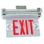 Morris 73330, Housing Recessed Mount Edge Lit LED Exit Sign