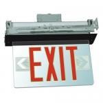 Morris 73332, Housing Recessed Mount Edge Lit LED Exit Sign
