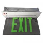 Morris 73336, Housing Recessed Mount Edge Lit LED Exit Sign