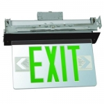 Morris 73337, Housing Recessed Mount Edge Lit LED Exit Sign