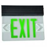 Morris 73407, Housing Edge Lit LED Exit Sign, DL Side
