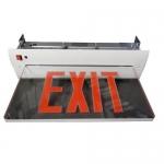 Morris 73413, Housing Recessed Mount Edge Lit LED Exit Sign