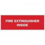 Brady 43299, 7″ x 10″ Aluminum Fire Extinguisher Inside Sign