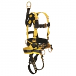 FallTech 8021L, RoughNeck 4-D Full Body Harness/ Derrick Belted