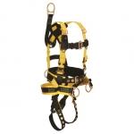 FallTech 8021M, RoughNeck 4-D Full Body Harness/ Derrick Belted