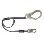FallTech 82093, 4′ to 6′ Adjustable Leg Restraint Lanyard with Hooks