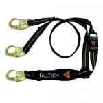 FallTech 8242YAF, Arc Flash 6′ Y-Leg Lanyard with 1 Steel Snap Hook