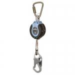 FallTech 82710SC1, DuraTech Single Leg Web SRD with Hook