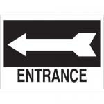 Brady 25768, 10″ x 14″ Polystyrene Entrance Sign