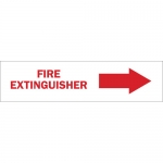 Brady 43293, 7″ x 10″ Aluminum Fire Extinguisher Sign