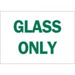 Brady 25946, 7″ x 10″ Polystyrene Glass Only Sign