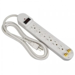Morris 89081, 840 Joules 6-Outlet Surge Strip with CATV Protection