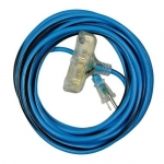 Morris 89310, 50′ SJTW 12/3 Cold Weather Extension Cord