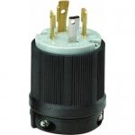 Morris 89756, 30A 125/250V Male Twist Lock Plug Receptacle