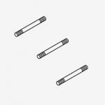 Cat Pumps 89779, 304SS Stud, Retainer (M7x123) for Frame Plunger Pump