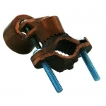 Morris 91704, Hub Serrated Collar Copper Ground Clamp