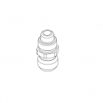 Anest Iwata 93584530, LPH/W100 1/4″ Fluid Nipple