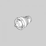 Anest Iwata 93624600, LPH300LV 1.3LV Fluid Nozzle