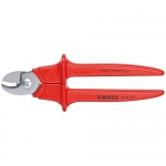 Knipex 95 06 230, Insulated Cable Shears for Copper Cable