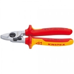 Knipex 95 26 165, Chrome Plated Insulated Cable Shears