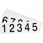 Brady 9714-# KIT, Number and Letter Label w/Legend: 0 to 9
