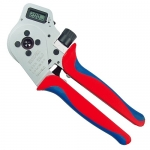 Knipex 97 52 65 DG, Digital Crimping Pliers-Four Mandrel