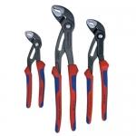 Knipex 9K 00 80 05 US, Comfort Grip Cobra Set 180, 250, and 300Mm
