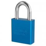 Master Lock A1205KAMKWR1BLU, American Lock 1205 Aluminum Padlock